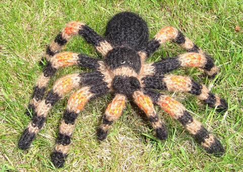 My Pet Tarantula by MadMonkeyKnits (0006) - Digital Version