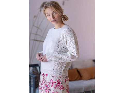 Women's Lace Sweater in Novita Nalle
