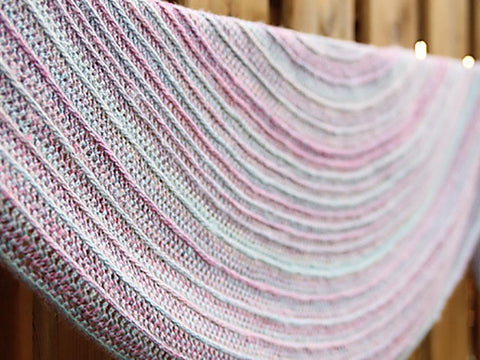 Our Tribe, My Tribe Shawl by MissNeriss in Scheepjes Our Tribe