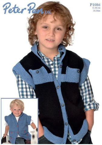 Gilet in Peter Pan DK (P1086) Digital Version