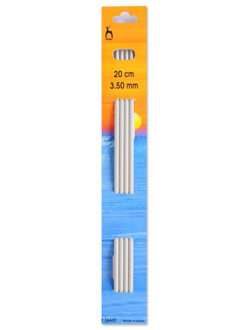 Pony Double Point Knitting Needles (Aluminium) - 20cm (Set of 4)