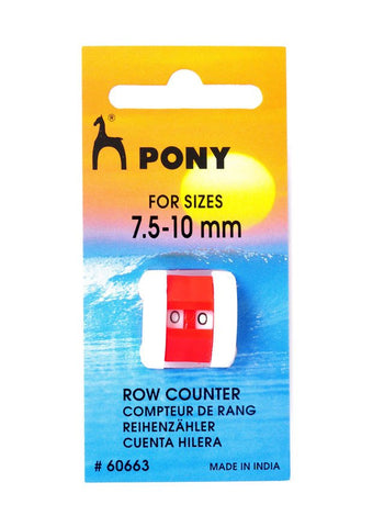 Pony Knitting Register Row Counter - Jumbo