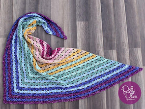 Rio Arriba Shawl Crochet Kit and Pattern in Stylecraft Yarn