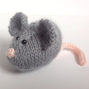 Squeaky Mouse in a Basket in DK by Amanda Berry - Digital Version