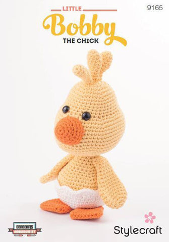 Little Bobby the Chick in Stylecraft Classique Cotton DK (9165)
