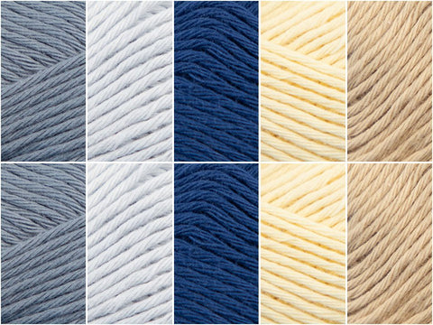 Lake House Colour Pack in Schachenmayr Organic Cotton