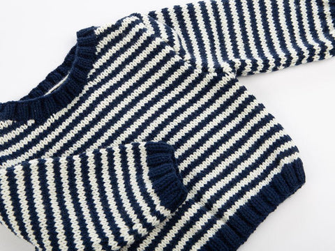 Nautical Sweater in Deramores Studio Baby DK
