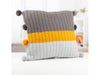 Knitted Cushion by Lynne Rowe in Deramores Studio Aran