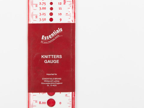 Essentials Knitters Gauge
