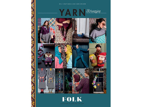 Scheepjes YARN Book-a-zine - Folk