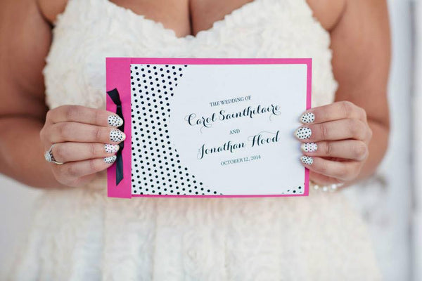 booklet wedding ceremony program