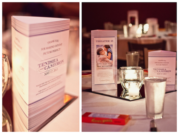 wedding table tents