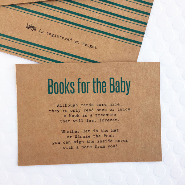 Clothesline Baby Shower Invites - Invited Too