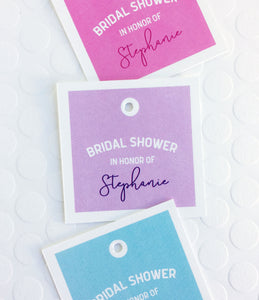 Bridal Shower Favor Tags - Invited Too