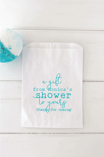 From My Shower to Yours Favor Bags - Invited Too