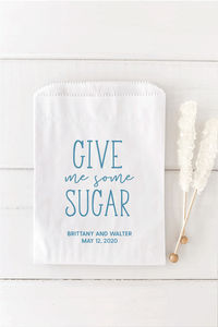 Give Me Some Sugar Wedding Candy Bar Bags - Invited Too