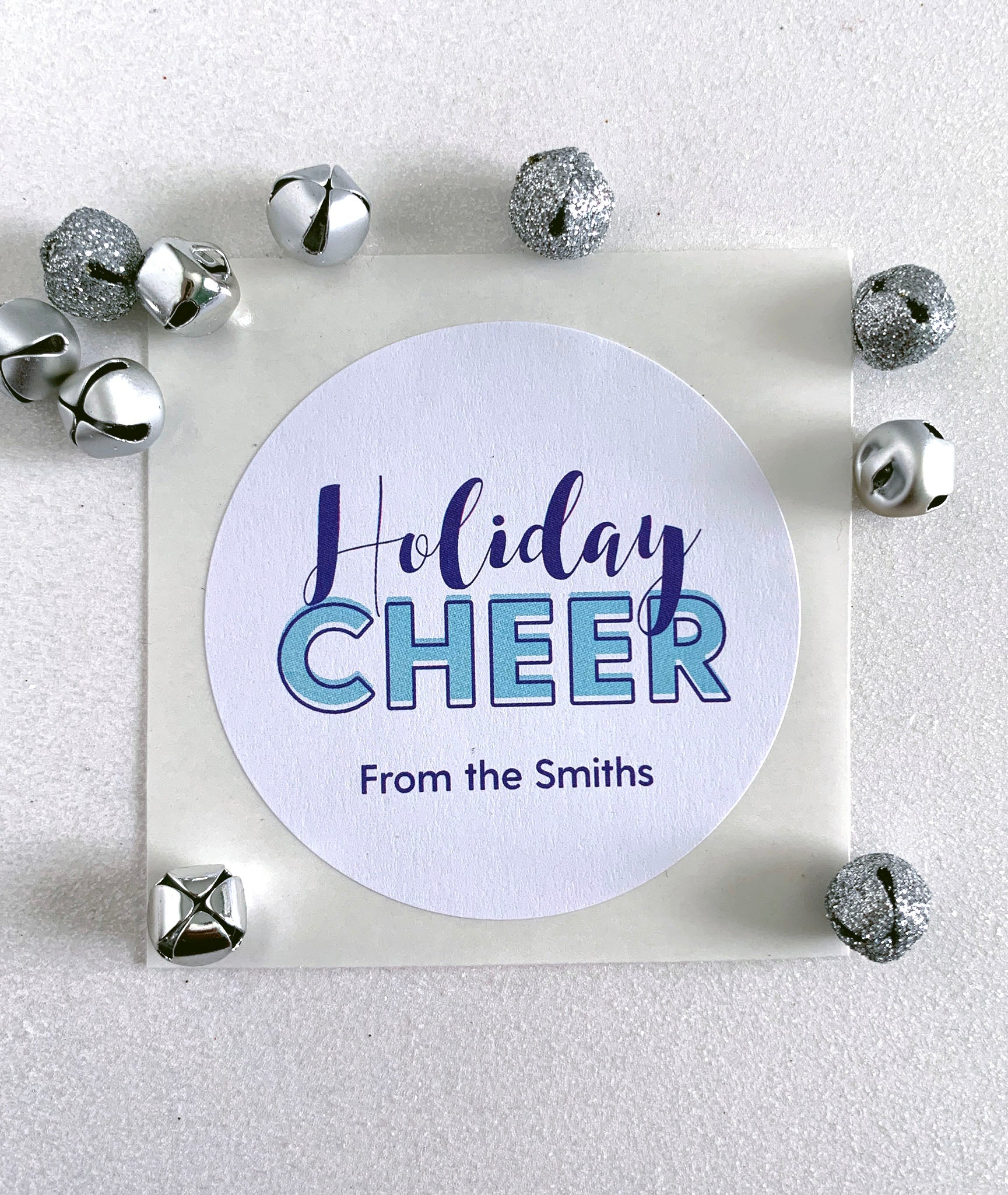 Holiday Cheer Christmas Gift Label - Invited Too