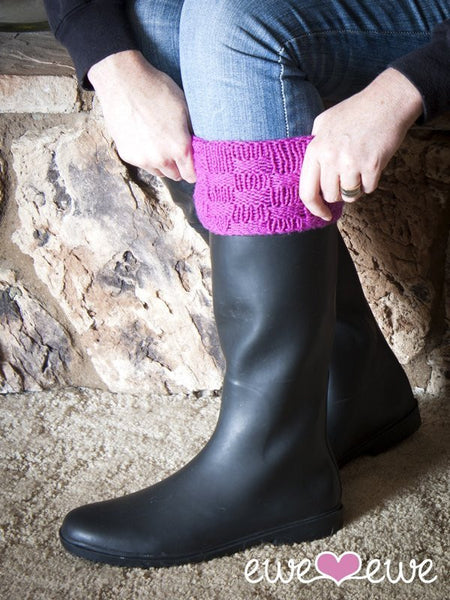 Wellie Warmers in Ewe Wooly Worsted (207)