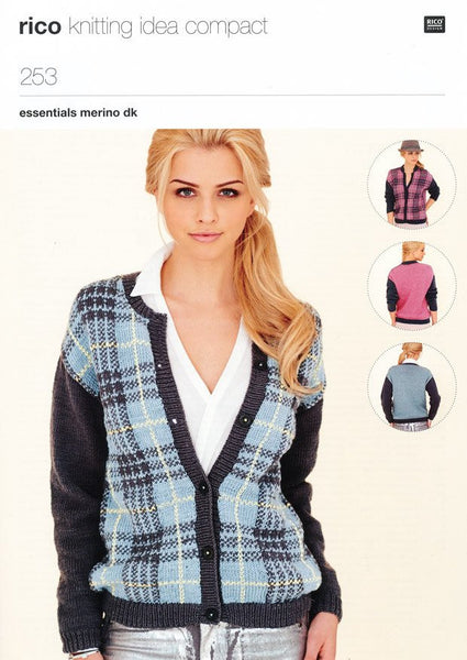 Cardigans in Rico Design Essentials Merino DK (253)-Deramores