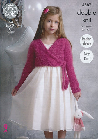 Ballet Tops in King Cole Embrace DK (4587)-Deramores