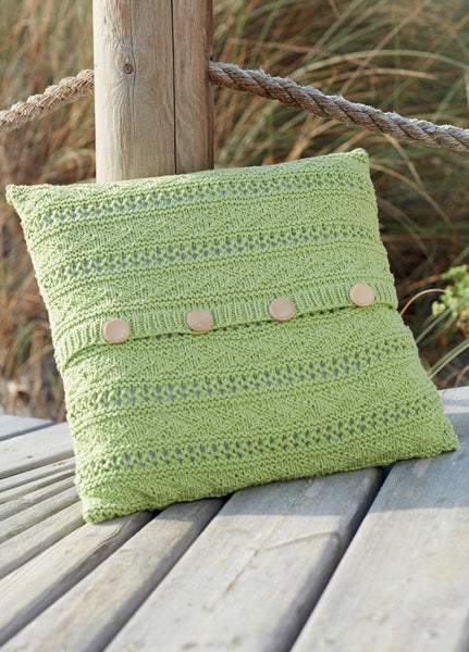 Cushion Covers and Throws in Sirdar Cotton Rich Aran (7749)-Deramores