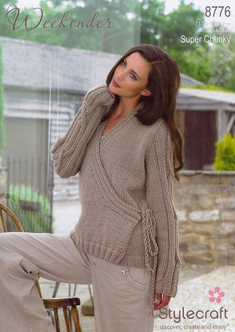 Cardigan In Stylecraft Weekender (8776)-Deramores