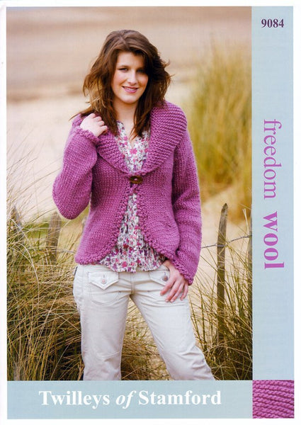 Fitted Jacket in Twilleys Freedom Wool (9084)-Deramores