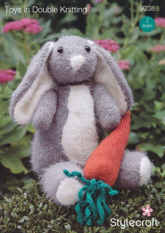 Rabbit and Carrot in Stylecraft Eskimo Kisses and Life DK (9238)