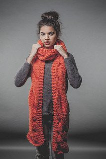 Charming Scarf by We Are Knitters-Deramores