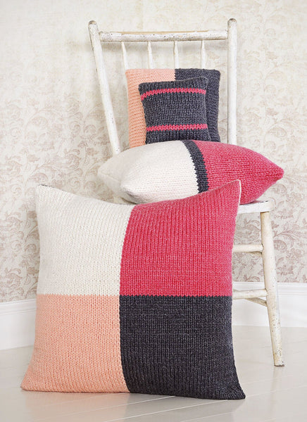 Four Square Pillows in Spud & Chloe Outer