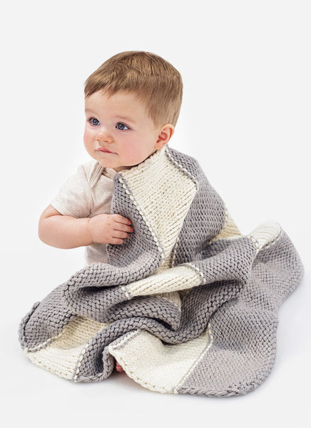 Bundle Me Blankie & Sweetie Socks in Spud & Chloe Outer