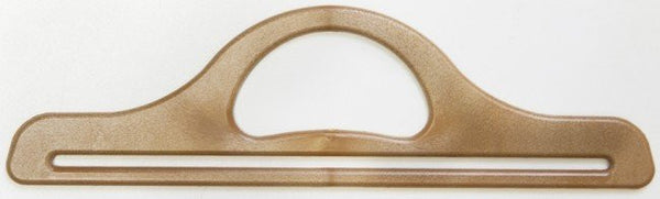 Wood Colour Bag Handles, 32cm x 9cm (pair)