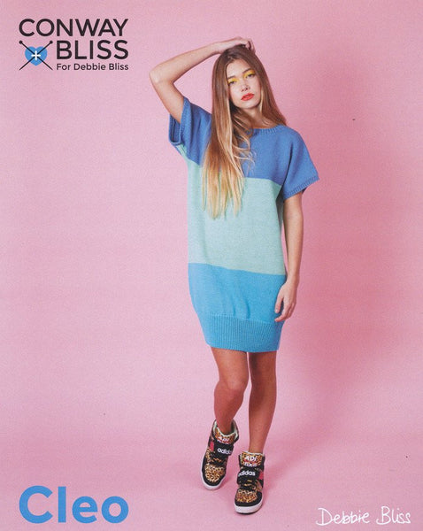 Colour Block Tunic in Conway + Bliss Cleo (CB025)