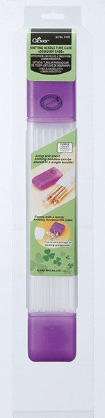 Clover Knitting Needle Tube Case