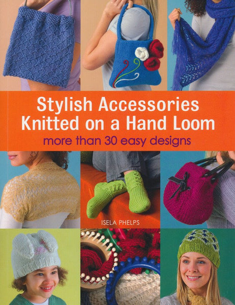 Stylish Accessories Knitted On A Hand Loom