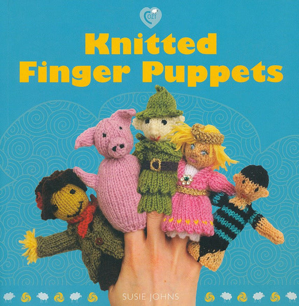 Knitted Finger Puppets by Susie Johns