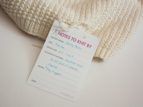 Ewe Ewe Yarns Notes to Knit By Notepads-Deramores