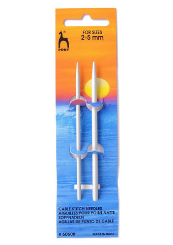 Pony Small Cable Needles - 2.00-5.00mm
