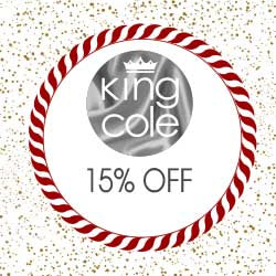 15% OFF King Cole - Today Only