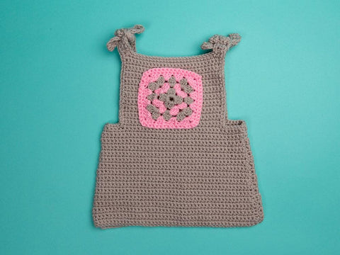 Baby Pinafore Dress in Deramores Studio Baby DK