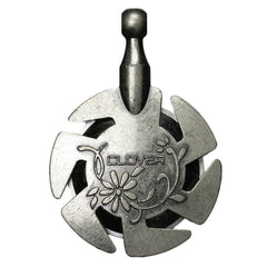 Yarn Cutter: Pendant: Antique Silver