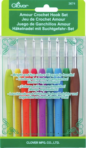 Amour Crochet Hook Set - 2.00mm-6.00mm