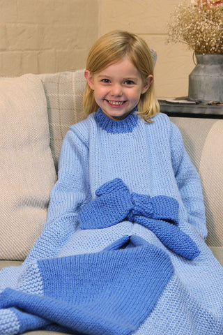 Children's Princess Blanket Kit in Stylecraft Special Chunky (9490)