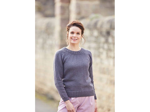 Yoked Sweater in Sirdar No.1 DK (10004S)