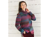 Two Tone Sweater in Sirdar Jewelspun (10030)