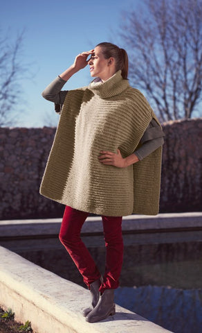 Poncho and Snood in Bergere de France Siberie (705.70)