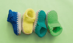 Children's Slippers in Bergere de France Barisienne (702.60)