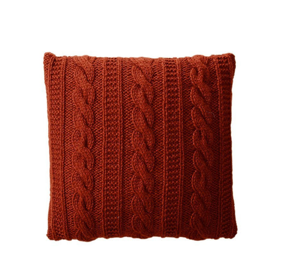 Cable Stitch Cushion in Bergere de France Alaska (700.55)