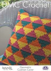 Geometric Cushion Cover in DMC Natura XL (15235L/2)