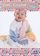 Tiny Tatty Teddy - Baby Blanket Crochet Pattern (15285L/2)